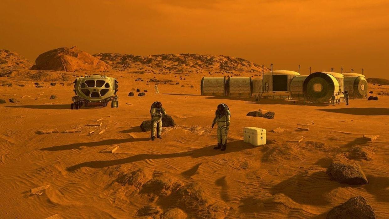 Erstaunliches Baumaterial: Forscher entwickeln Marsbeton aus Blut, Urin und Regolith.
