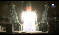 Starlink-Konkurrenz: Russische Sojus-Rakete bringt 34 Oneweb-Satelliten ins All