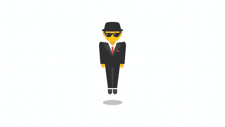 Emoji mit Geschichte: Wer hinter dem schwebenden Mann im Anzug wirklich steckt
