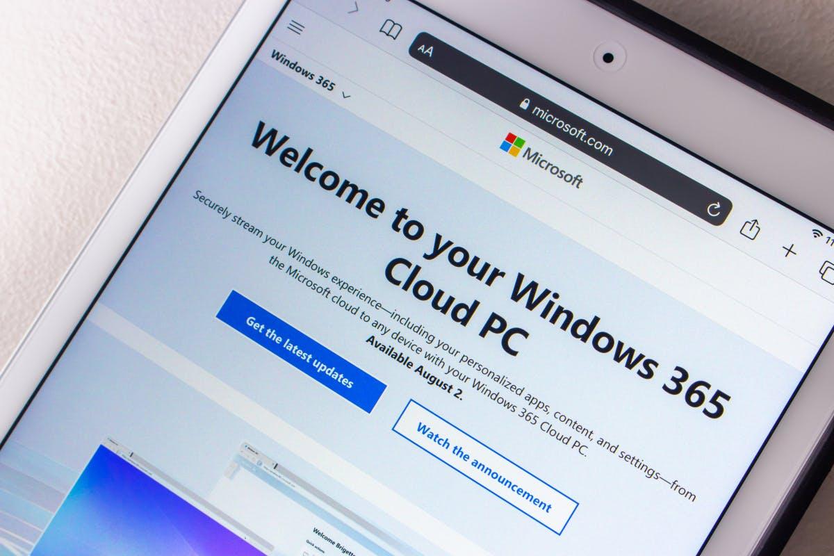 Der mietbare Cloud-PC mit Home windows kann bestellt werden thumbnail