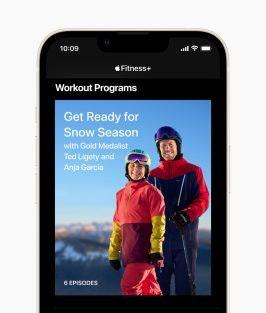 Ski workout Fitness Plus