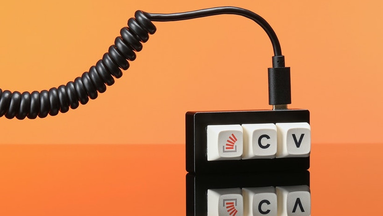 Diese Tastatur kann nur Copy & Paste: Aus Aprilscherz wird The Key