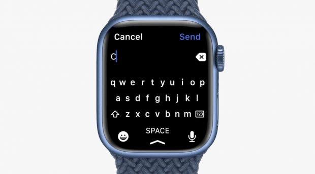 Apple Watch Series 7 Tastatur