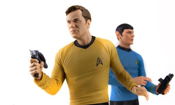 Star Trek Revisited: Captain Kirk fliegt mit Blue Origin ins All