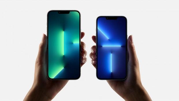 Die beiden Größen des iPhone 13 Pro. (Bild: Apple)