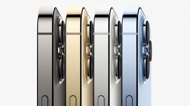 Das iPhone 13 Pro von der Seite