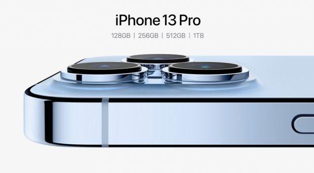 iPhone 13 Pro mit bis zu 1 TB