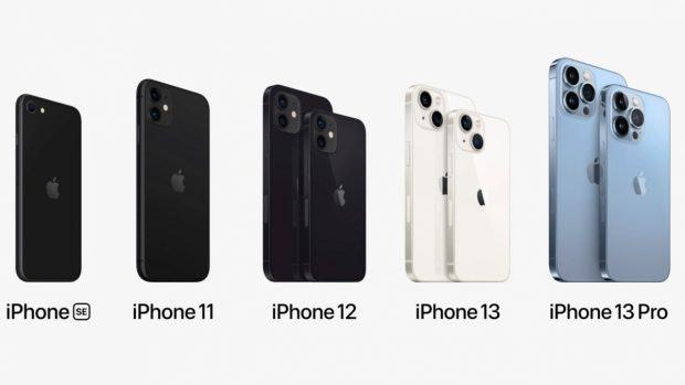 Die 2021er iPhone-Familie