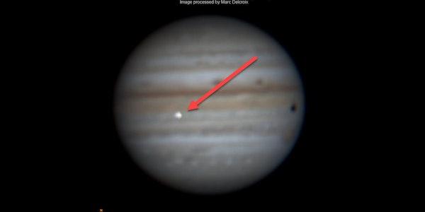 Asteroid trifft Jupiter: Hobbyastronom fängt seltenen Moment im Video ein
