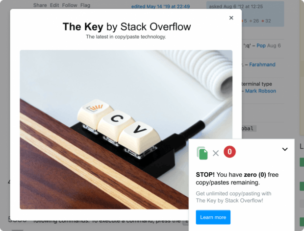 Stackoverflow The Key