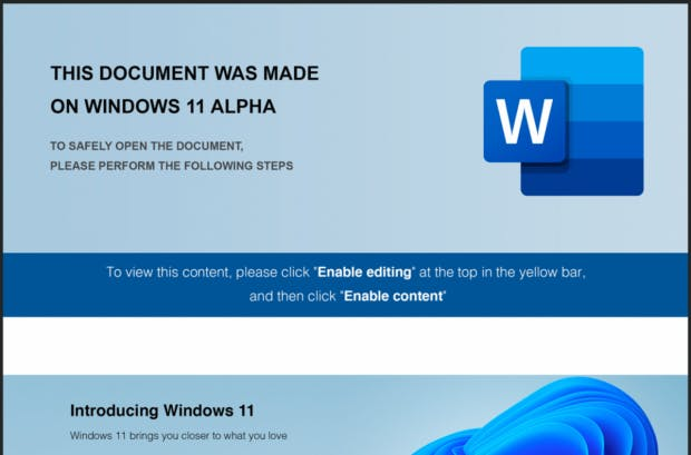 New malware assault: be careful for the Home windows 11 alpha attachment! thumbnail