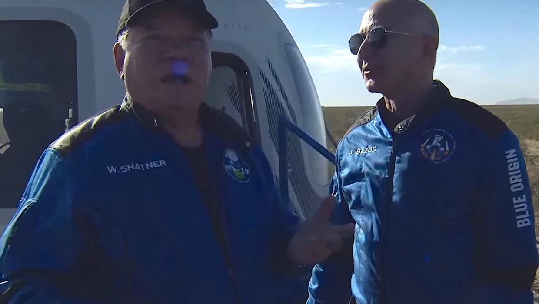 """William Shatner nach Blue-Origin-Flug überwältigt : """"Ich sah den Tod"""""""