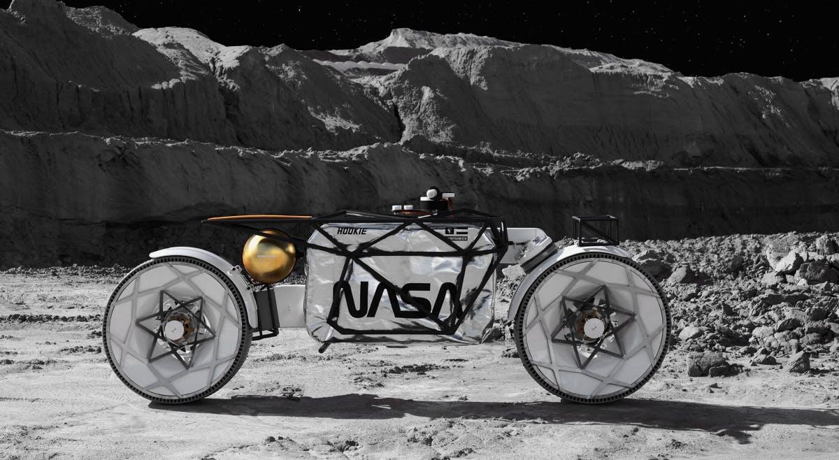Moon buggy alternative: Saxon company builds moon motorcycle Tardigrade