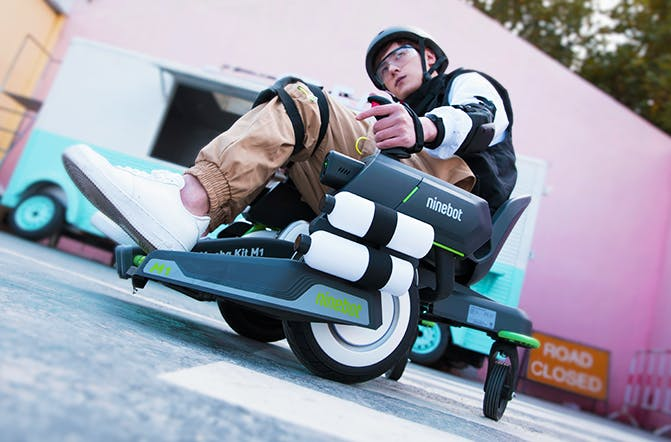 Segway becomes a robo-fighter: This is what the new mecha kit brings