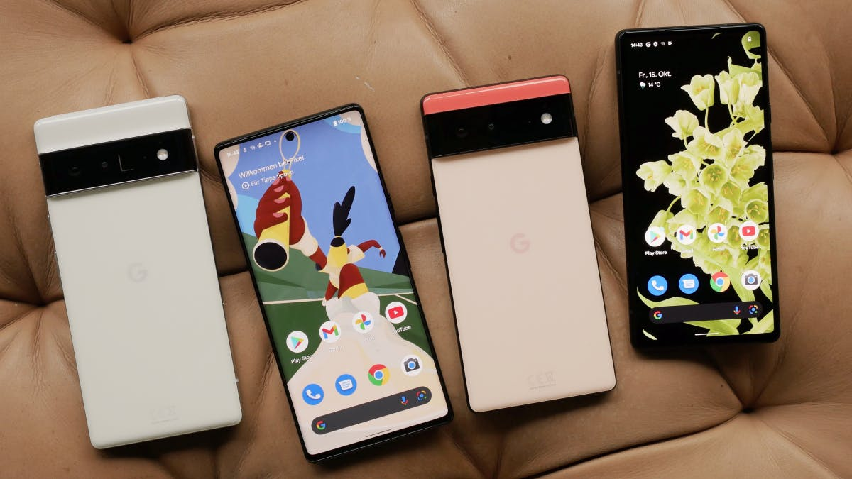Pixel 6 and 6 Pro in hands-on: This is how the new Google smartphones differ